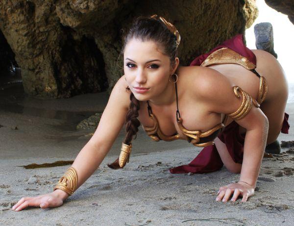 Nude cosplay women